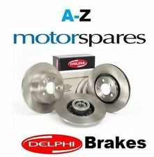 FOR PEUGEOT 207 1.6i  2006-> FRONT DELPHI BRAKE DISCS SET AND DISC PADS KIT
