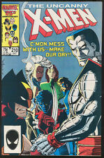 X-MEN #210 October 1986 NM+ 9.6 W WOLVERINE Mutant Massacre Marvel Comics