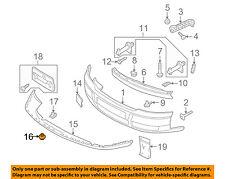 AUDI OEM 02-05 A4 Quattro Front Bumper-Spoiler Pin 8E0805121A