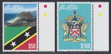 St. Kitts (St. Christopher) 2015 Mi.1466-67 ** Insel & Staatswappen Mi. 135,-- €