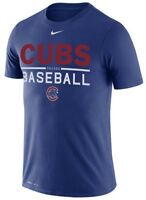 Chicago Cubs Mens Nike Dri-Fit Cotton Practice T-Shirt - Large - NWT