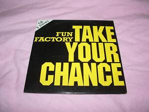 /// CD SINGLE FUN FACTORY TAKE YOUR CHANCE / EURO DANCE 1994