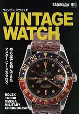 Vintage Antique Watch Guide Japanese Book Rolex Tudor Omega Japan F/S +tracking