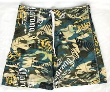 Corona Extra Camo Board Shorts Trunks Surf Swim Beach Light Weight Mens Size 34