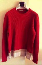 DANIELE ALESSANDRINI Mens Sweater- Jersey S - Size Small- Maglione Uomo Taglia S