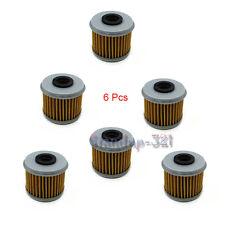 6Pcs Oil Filter For HONDA CRF150R CRF150F CRF250R CRF250X CRF450X CRF450R TRX450