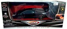 NEW Luxe Radio Control Black Lamborghini Murcielago LP 670-4 SV Toy