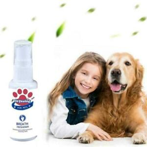 Pet Dog Puppy Breath Freshener Mouth Oral Spray Teeth Dental F3B3 Care 30ml E4G5