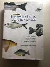 Freshwater Fishes of South Carolina (2009, Hardcover)