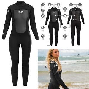 Osprey Origin Womens 5mm Winter Wetsuit Full Length Ladies Neoprene Black
