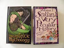 CELTIC MYTHOLOGY & SCOTLAND A VERY PECULIAR HISTORY ~ FIONA MACDONALD SIGNED 1ST