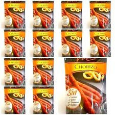 12 PACKETS OF  SPANISH CHORIZO SNACKS  50 GR X 12 *SUPERB FLAVOUR*GLUTEN FREE !
