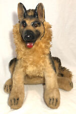 Vintage Rubber Face Plush Dog Stuffed Animal German Shepard 1976