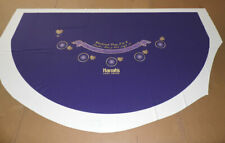 BLACKJACK Table Layout with Side Bet -5 Player - Ultra-Glide™ Polyester - NEW