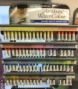 Daler Rowney Artists' Watercolour Paints 5ml Singles - Choose from 80 colours