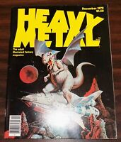 Vintage early issue HEAVY METAL MAGAZINE, December 1978 Moebius Corben Morrow EX