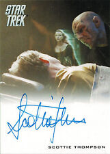 Star Trek Movies 2014 Into Darkness Autograph Card Scottie Thompson Neros Wife
