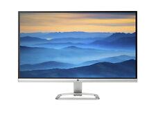 HP 27es 27'' Full HD IPS Monitor - Schwarz/Silber