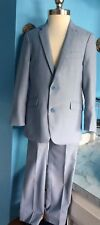 Appaman Boy Blue Blazer And Pants Suit Size 6 Years 2 Pc