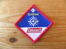 UK Scouting Scout Challenge Award (Outdoor) Coleman