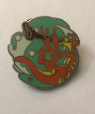 Disney Pin Round Little Mermaid Underwater