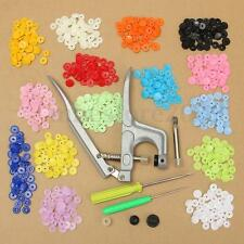 Fastener Snap Pliers KAM Button+150 set T5 Plastic Resin Press Stud Cloth Diaper