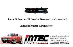 Renault Scenic / II Instrument Panel/Dashboard/Odometer Repairing