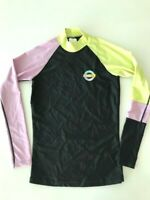 BNWT BILLABONG LADIES WE MAKE WAVES LONG SLEEVE RASHIE TOP SIZE 10 RRP $69.99