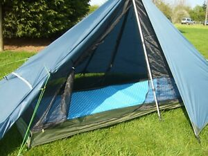 Ultralight Backpacking Tent - Just 1.1kg - 1 Person Tent, 3 Season PYRAMID Tent