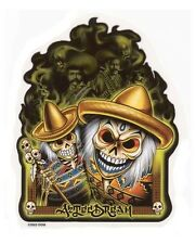 AZTEC DREAM DIA DE LOS MUERTOS DAY OF THE DEAD MEXICAN VINYL STICKER/CAR DECAL