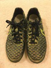 Nike Magista Soccer Cleats Sz 7 Men's Black Copper Bright Yellow