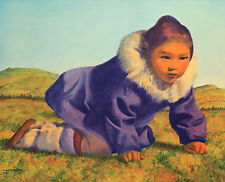 Fred Machetanz, Tundra Flower, S/N LE Lithograph, Hand Signed by Artist, Mint