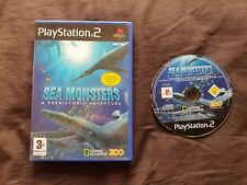 SEA MONSTERS A PREHISTORIC ADVENTURE Sony Playstation 2 Game PS2
