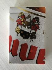 DUVEL - Brewery MOORTGAT - playing cards  – COLLECTORS ITEM
