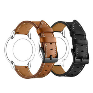 Quick Release Universal Classic Genuine Leather 18mm 20mm 22mm Watch Band Strap