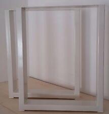 Tischgestell Tischfuß Tischuntergestell Tischkufe Kufengestell Weiß Design Weiss