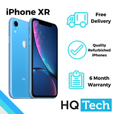 Apple iPhone XR 64GB Black Red Blue Coral Yellow Unlocked Refurbished