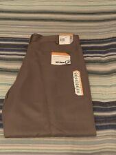 SAVANE Microfiber Performance Pants 42x30 Comfort Waist NEW WITH TAGS Khaki