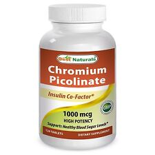 A Chromium 1000mcg Supports Healthy Blood Sugar Levels 120 Tablets