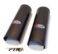 Pro Carbon Top / Upper Fork Guards Protectors Motocross Enduro Honda CR CRF CR F
