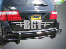 BGT 2011-2016 HONDA ODYSSEY REAR DOUBLE TUBE BUMPER PROTECTOR B/K