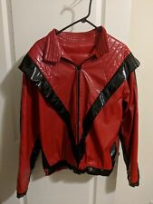 Unisex Michael Jackson Red Thriller Jacket and Pants Coat MJ Costume Performance