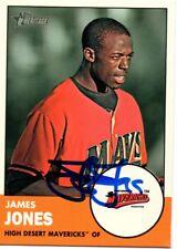 James Jones High Desert Mavericks 2012 Topps Heritage Signed Card
