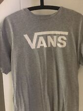 mens vans t shirt medium grey