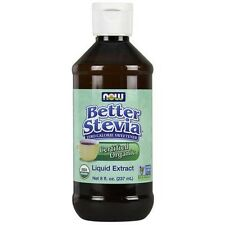 NOW Foods Certified Organic Liquid Stevia Extract formerly Non-Bitter 1823 Serv.