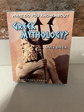 Greek Mythology Quiz Deck