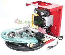 16Gpm 110V Transfer Fuel Diesel Petrol Pump Yb-60 w/Digital Nozzle Dispenser Gun