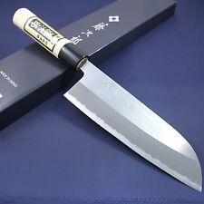Japanese Santoku Knife TOJIRO Grinding Finished White Shirogami Made in Japan