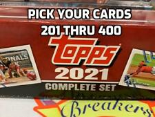 2021 Topps 582 Montgomery Club Complete Set #3 -PICK YOUR CARDS 201 to 400