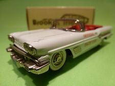 BROOKLIN MODELS BRK 25 PONTIAC BONNEVILLE 1958 - IDIANAPOLIS PACE CAR 1:43 -NMIB